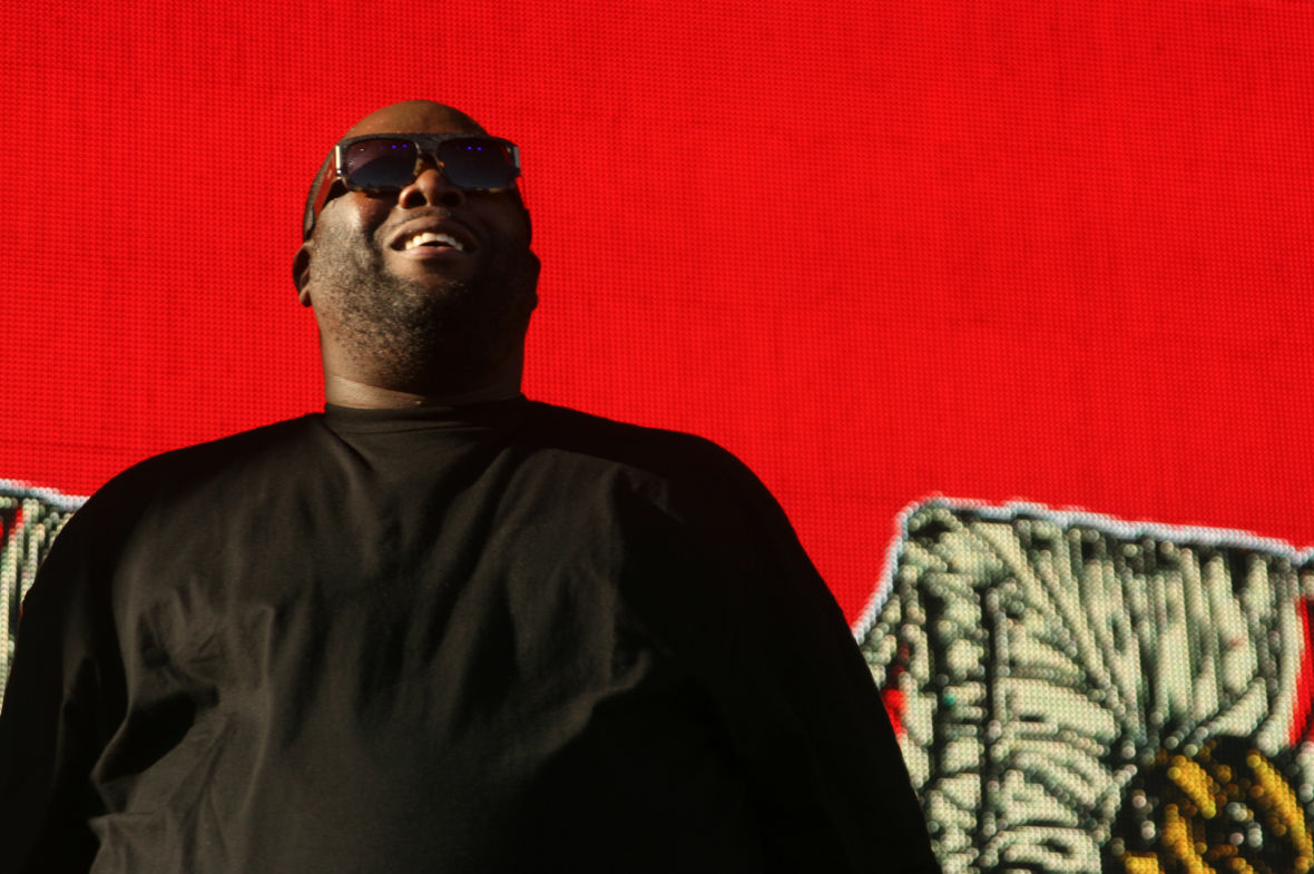 Run the Jewels at the Treasure Island Music Festival. (Photo: Gabe Meline/KQED)