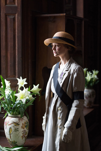 Carey Mulligan as Maud Watts in 'Suffragette.'