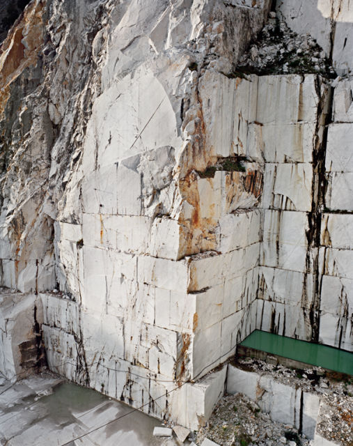 Edward Burtynsky, 'Carrara Marble Quarries #12,' 1993.
