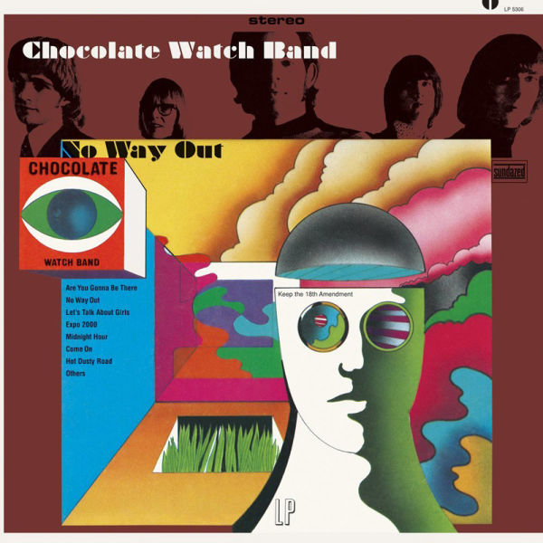 The Chocolate Watchband's first album 'No Way Out.'
