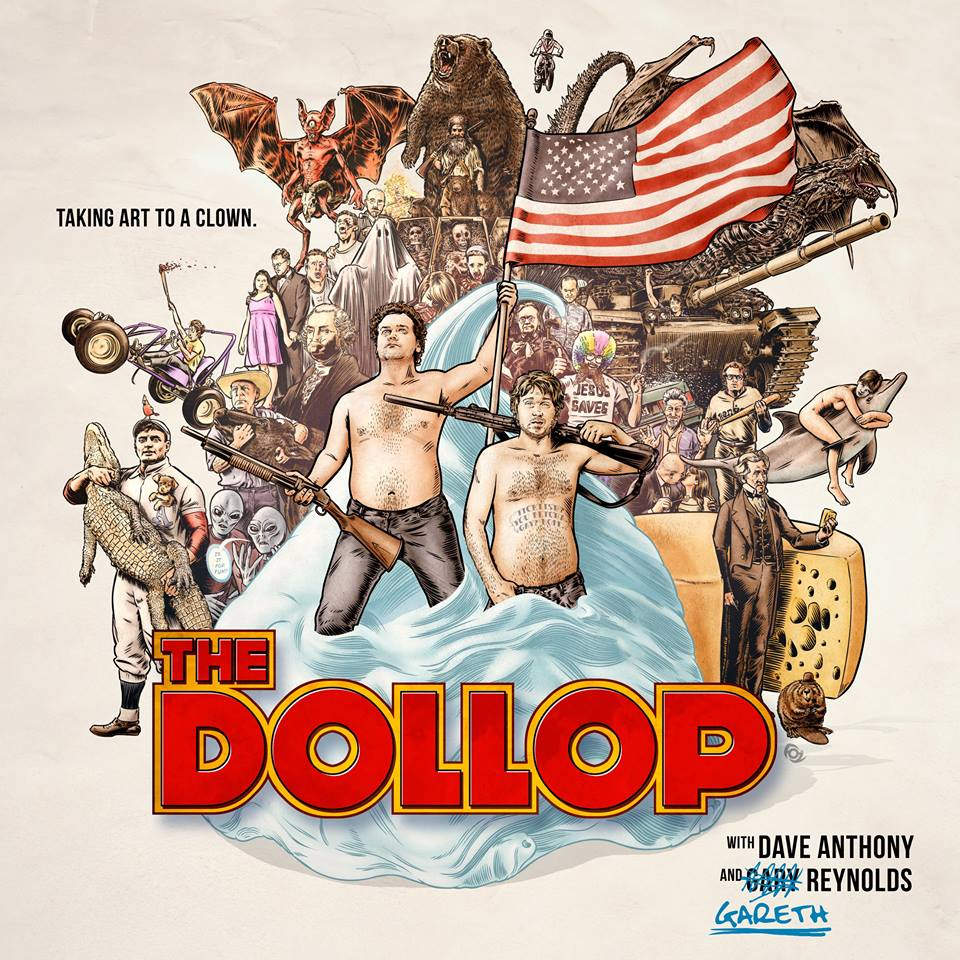 The Dollop logo