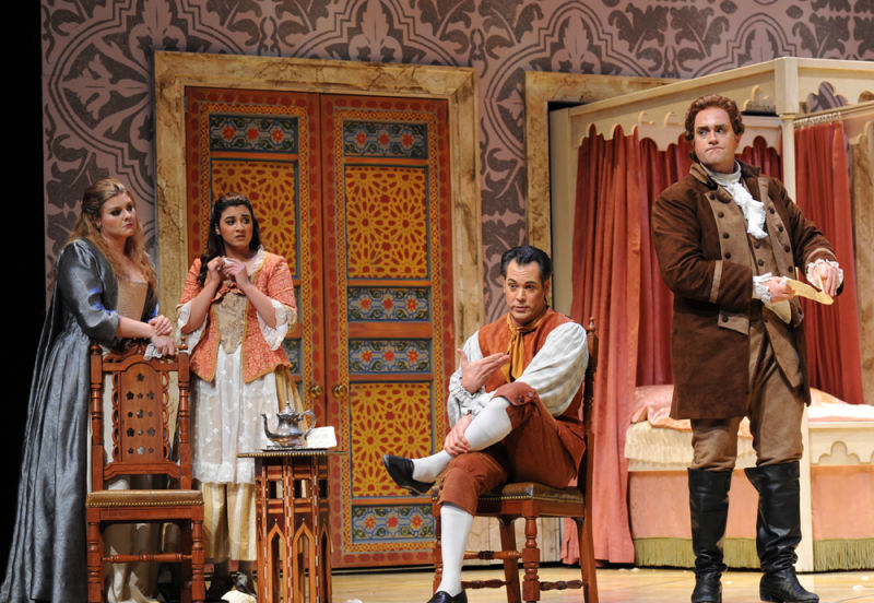 A scene from 'The Marriage of Figaro' at Opera San Jose