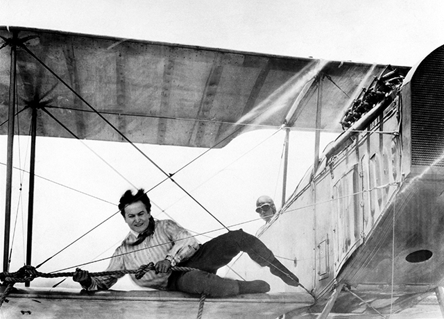 Harry Houdini in 'The Grim Game,' 1919.