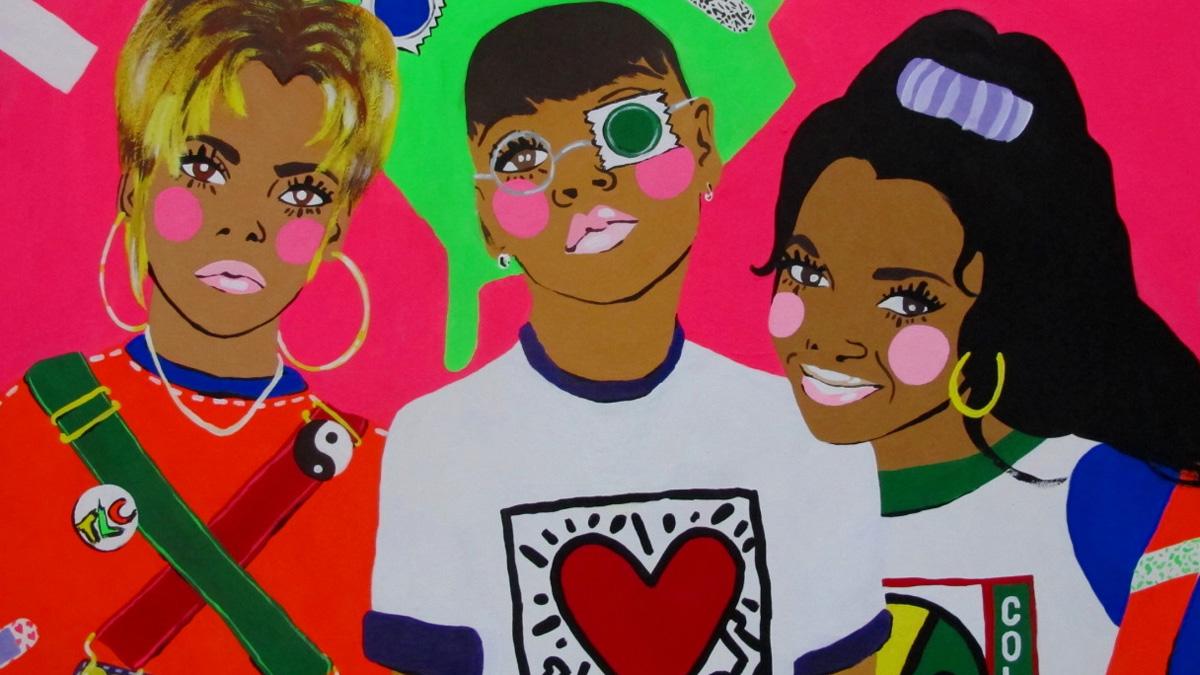 Michelle Guintu painting