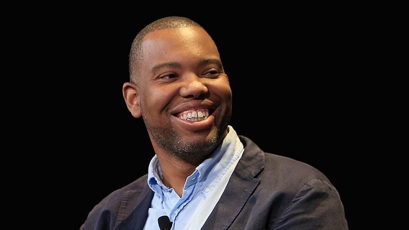 Writer Ta-Nehisi Coates speaks onstage at the New Yorker Festival 2015