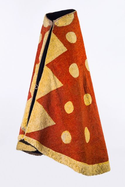 'Ahu 'ula (cloak), possibly mid-18th century.