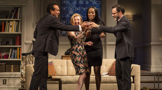A scene from Ayad Akhtar's 'Disgraced' at Berkeley Rep.
