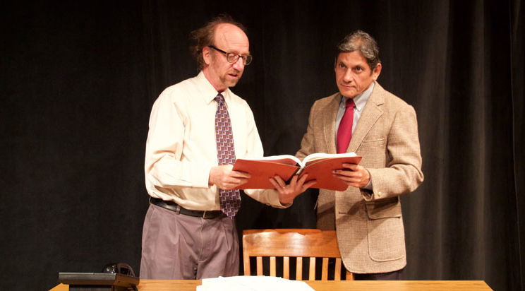 A scene from 'Sunlight' by Sharr White at Dragon Theatre