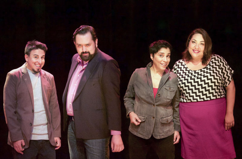 The cast of New Year's Eve Comedy Fiesta: Latino Power Edition!