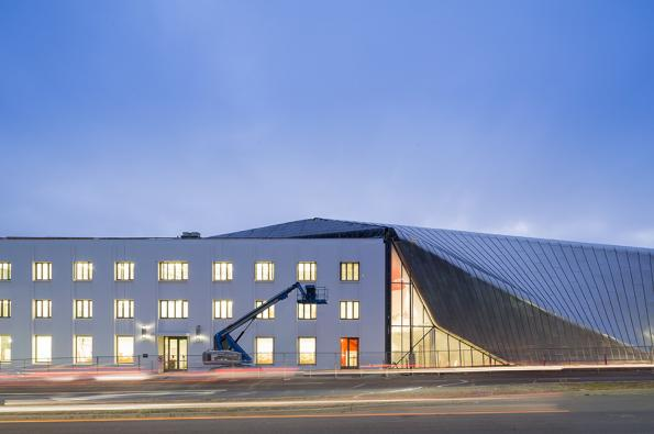 The new Berkeley Art Museum and Pacific Film Archive