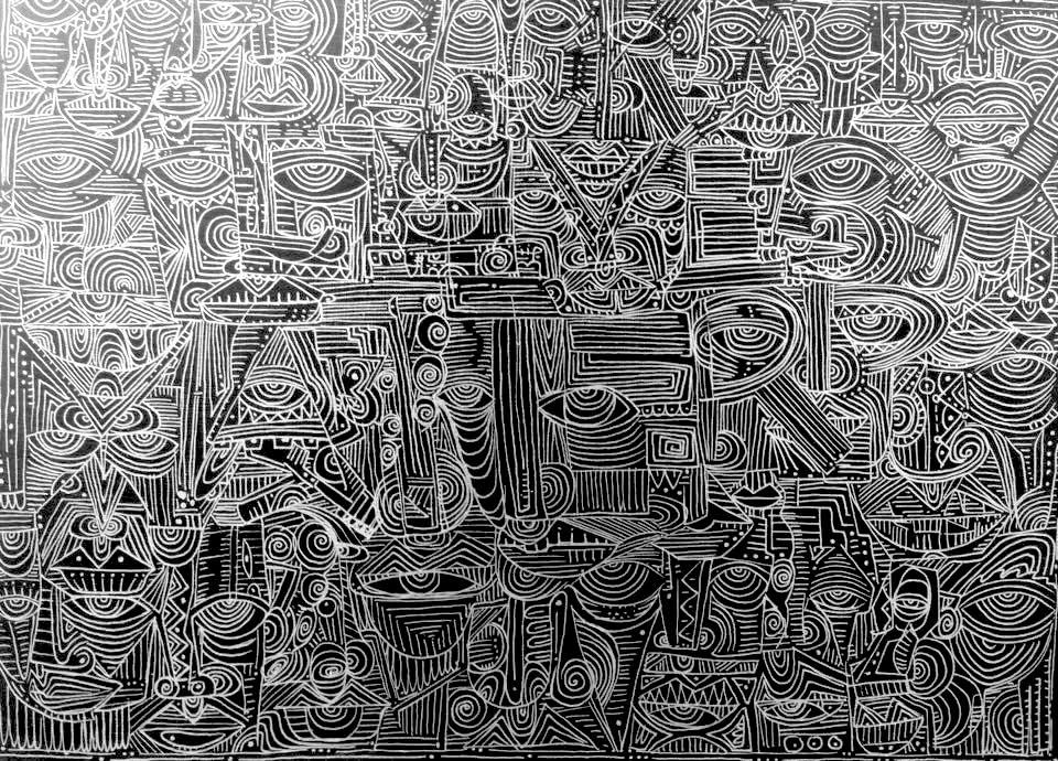 Mahader Tesfai, 'Untitled.'