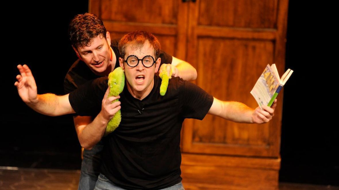 Daniel Clarkson and Jefferson Turner of Potted Potter