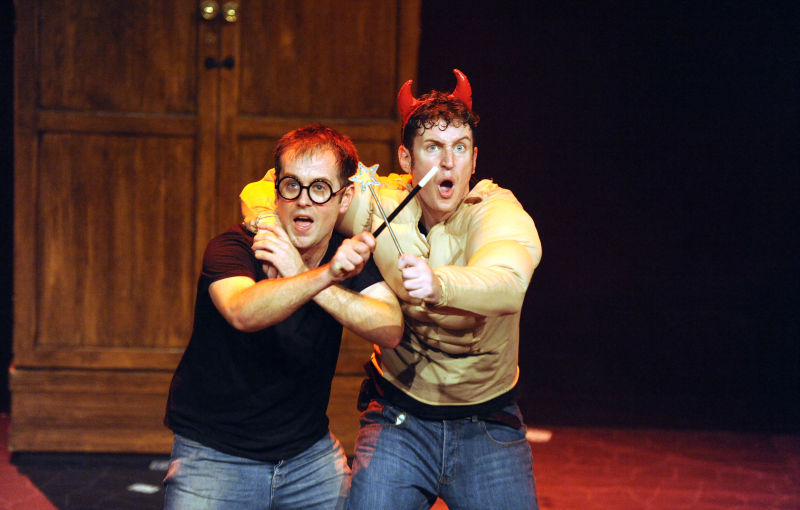 Jefferson Turner and Daniel Clarkson in 'Potted Potter'