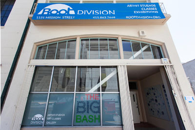 Root Division's new home at 1131 Mission Street.