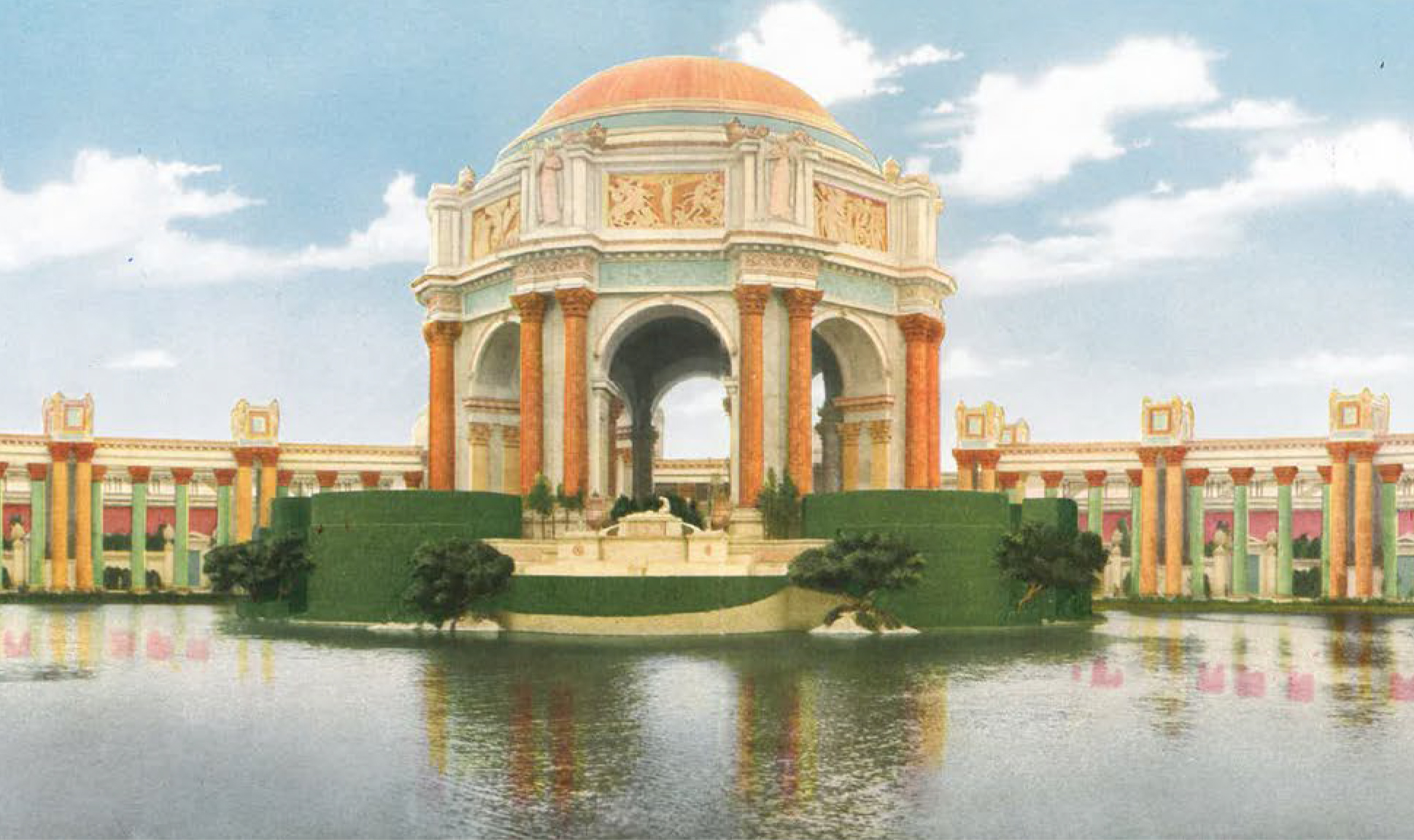 Three plans what the future holds for the palace of fine for Museum of art san francisco
