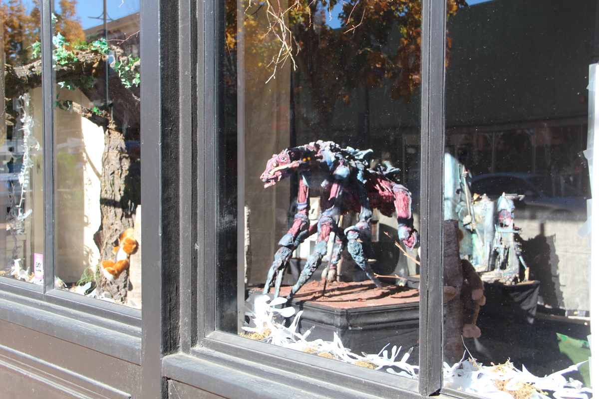 Vallejo Art Window by Brad Isdrab.