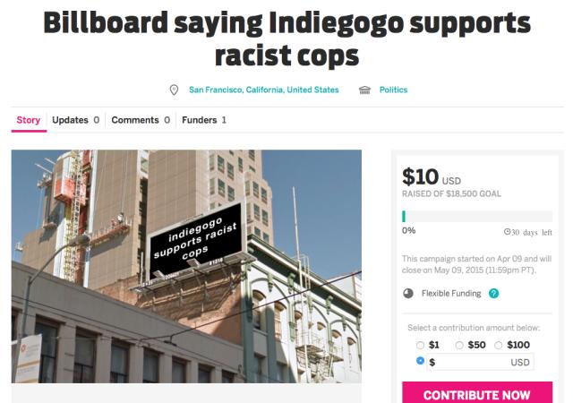 Joe Viex's meta Indiegogo campaign.