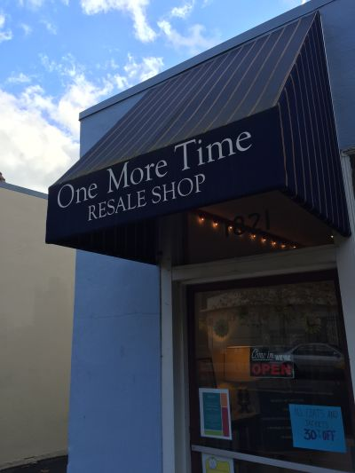 One More Time second hand store in San Rafael