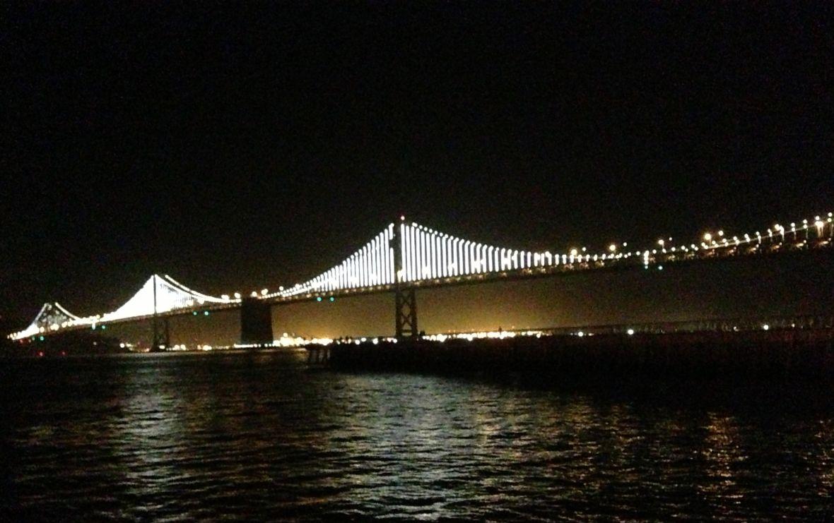 The Bay Bridge Lights return Jan. 30
