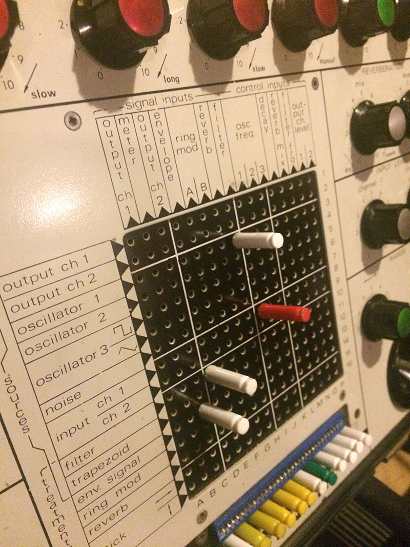 The EMS Synthi AKS.