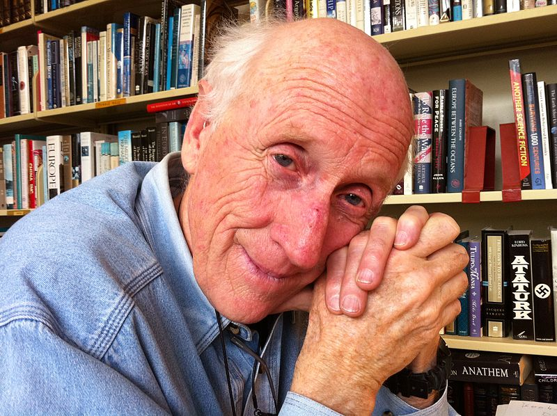 Stewart Brand at his home in Sausalito, 2010.