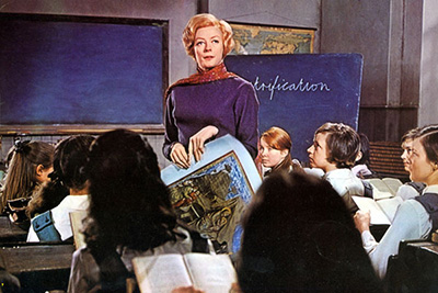 Maggie Smith in 'The Prime of Miss Jean Brodie,' 1969.