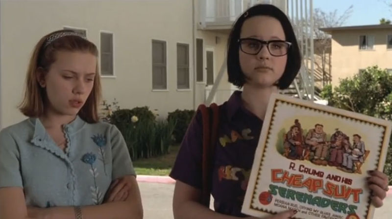 A scene from 'Ghost World.'