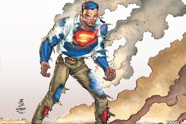 "Gene Luen Yang is writing Superman for DC Comics. ""You have to find the parts of him that overlap with parts of you."""