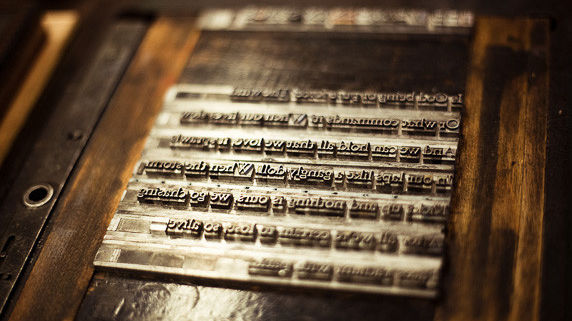 A new exhibit highlights more than 40 years of letterpress and other arts at Cowell Press in Santa Cruz.