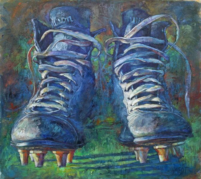 Gordon Smedt • End Zone • 48 X 54 • Oil on Canvas