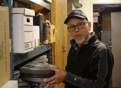 Veteran BAM/PFA video curator Steve Seid, who retired at the end of 2014. (BAM/PFA)
