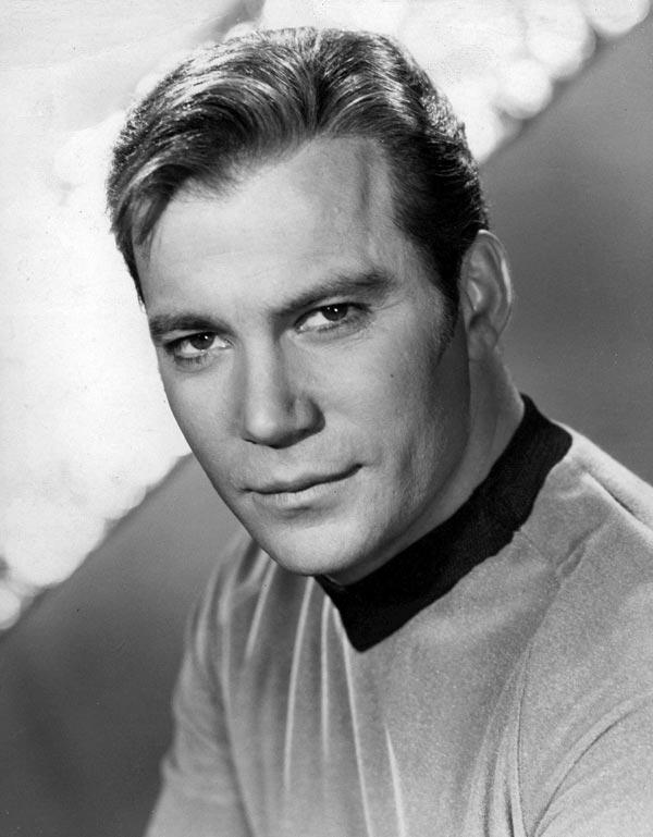William Shatner as Captain James T. Kirk on 'Star Trek.'