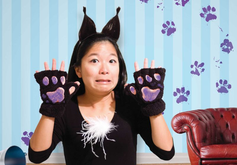 Sango Tajima as Kitty in Bad Kitty on Stage