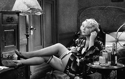 Dorothy Mackaill in William Wellman's 'Safe in Hell,' 1931.