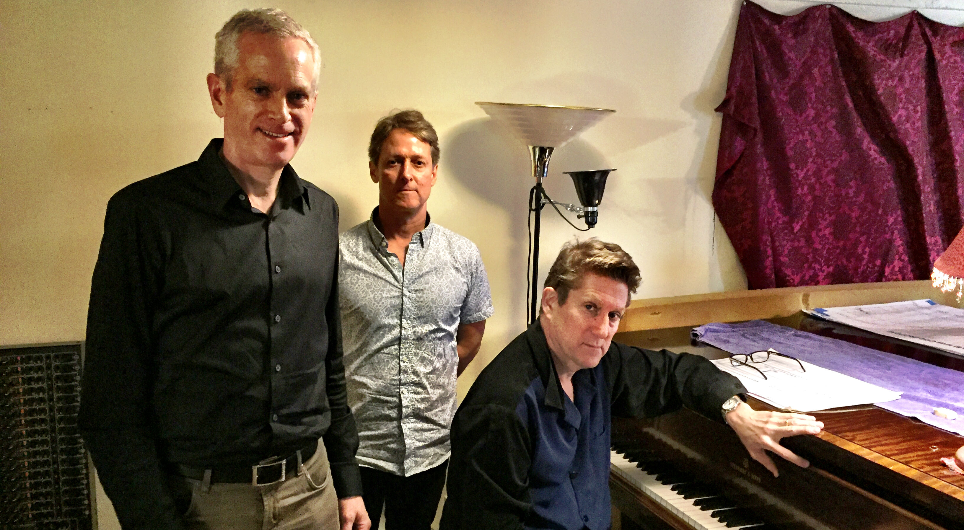 The team behind the Climate Music Project: (L-R) William Collins, Stephan Crawford, Erik Ian Walker
