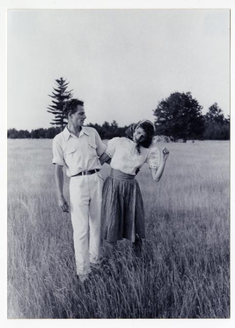 Photographer unknonwn, Anna and Lawrence Halprin, circa 1940.