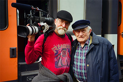Les Blank and Ricky Leacock