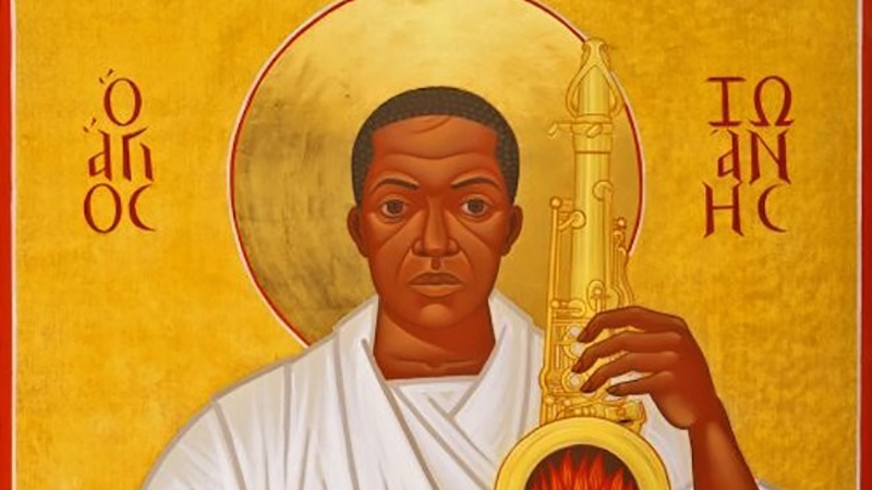 St. John Coltrane graphic