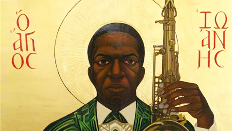 Art from the Saint John Coltrane Church