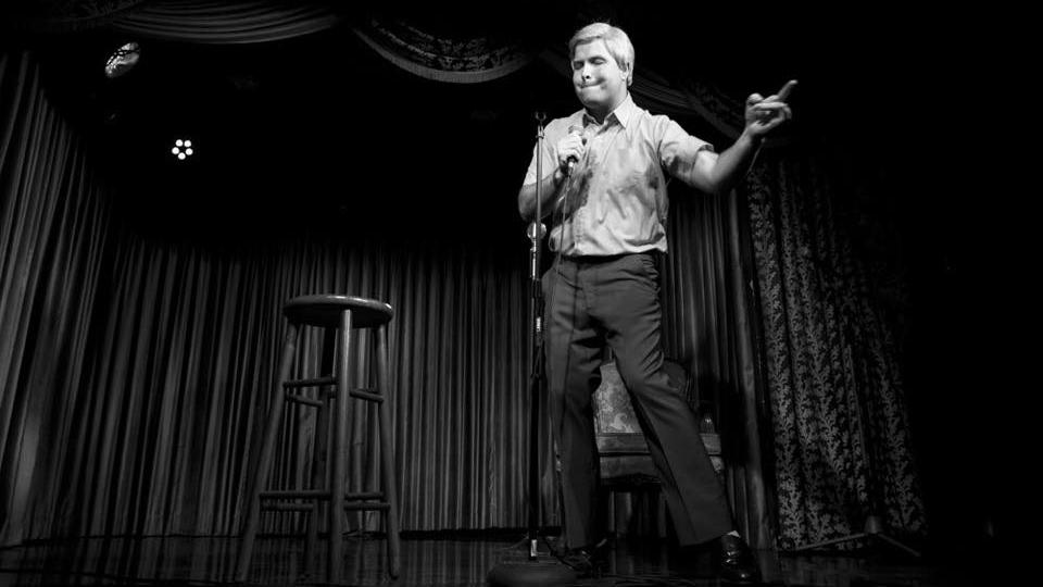 Daniel Van Kirk on stage