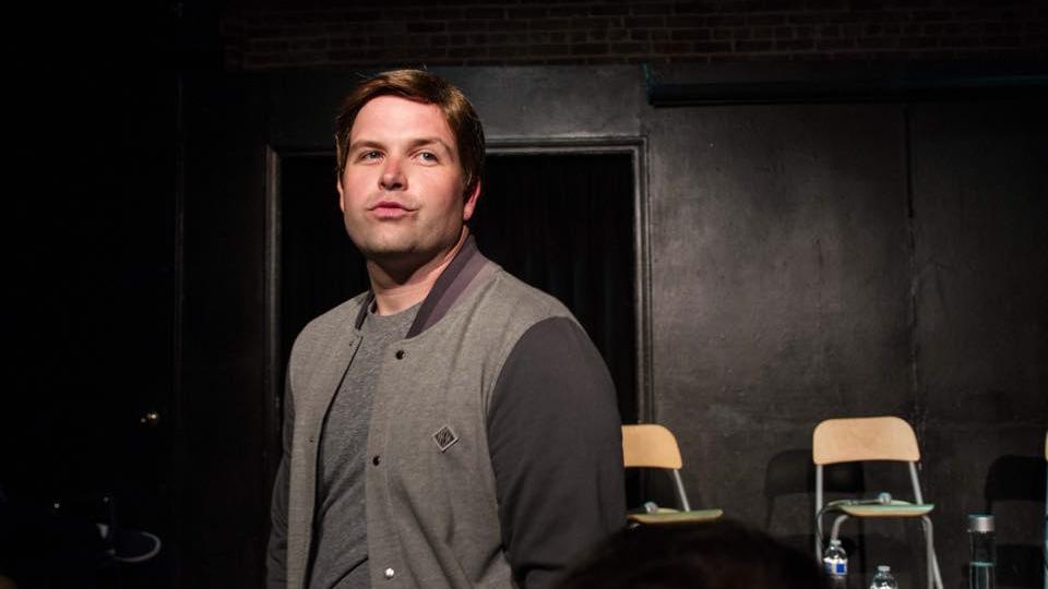 """Daniel Van Kirk as """"Mark Wahlberg"""""""