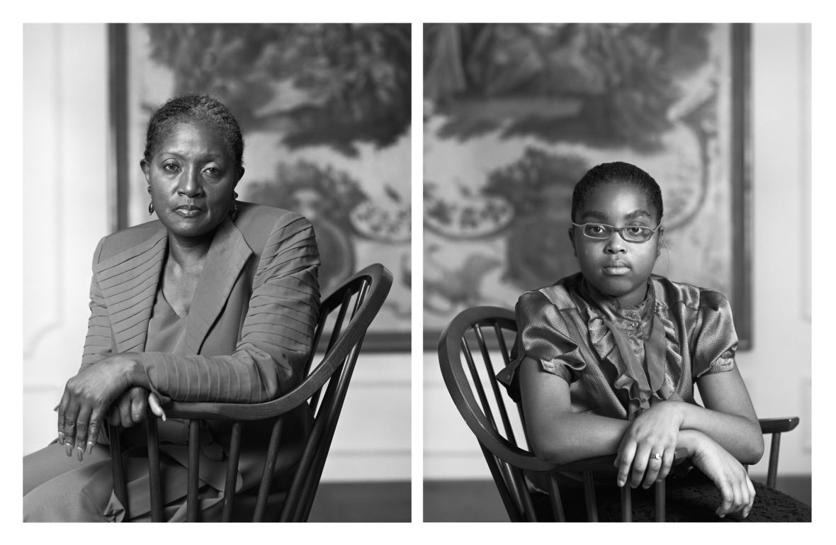 Dawoud Bey, Betty Selvage and Faith Speights,from The Birmingham Project,2012; inkjet prints; promised gift of Courtnay Hadento the San Francisco Museum of Modern Art; © Dawoud Bey;