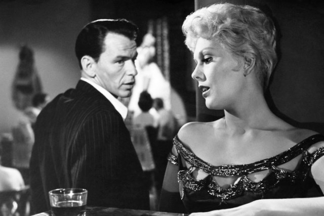 Kim Novak and Frank Sinatra in 'The Man With the Golden Arm,' 1955.