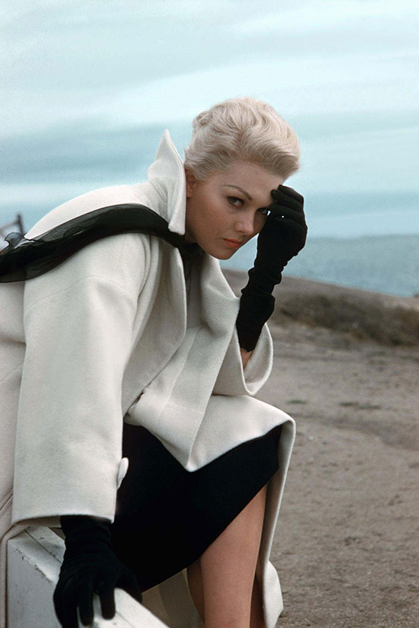 Kim Novak in a publicity shot for 'Vertigo,' 1958.