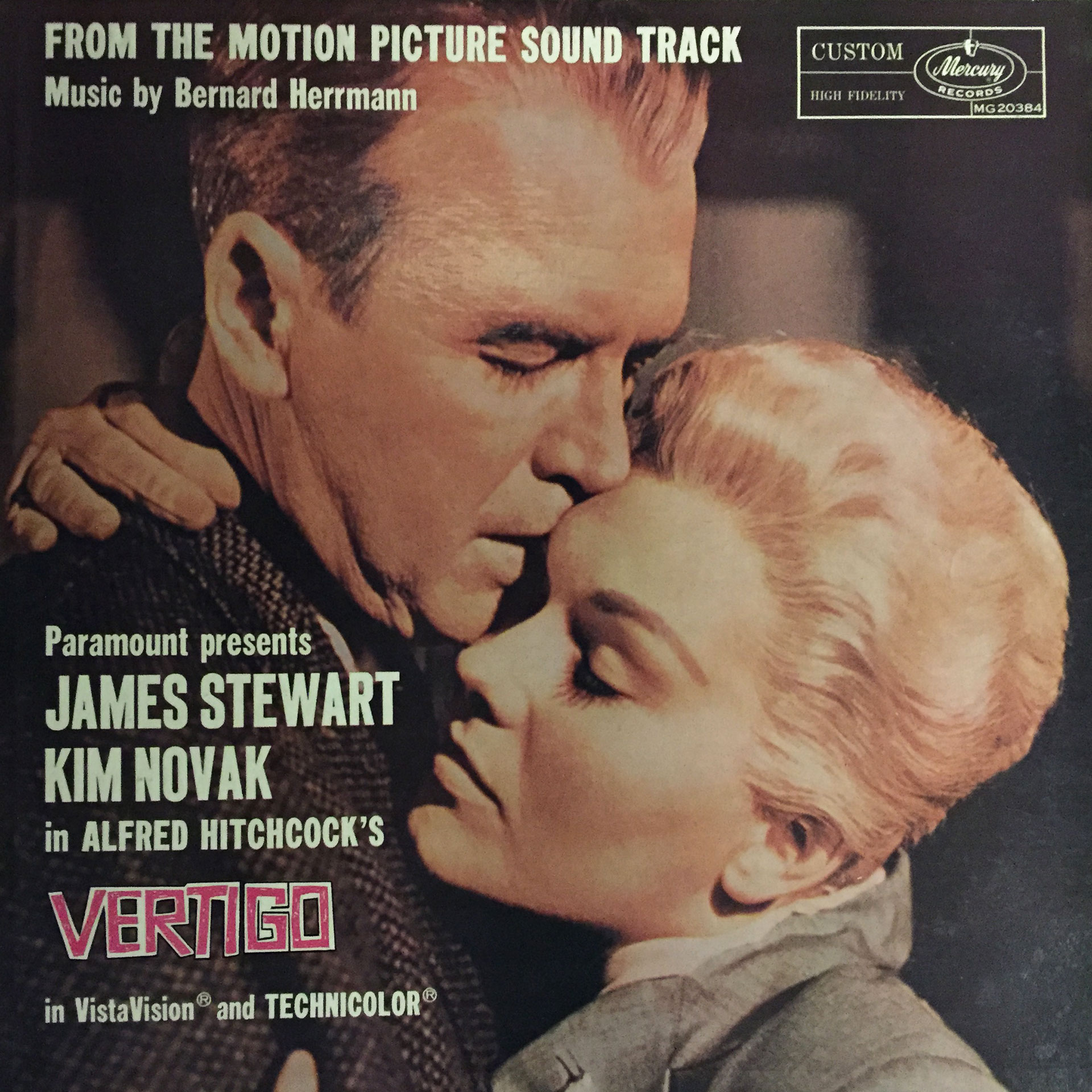 Bernard Herrmann's soundtrack to 'Vertigo.'