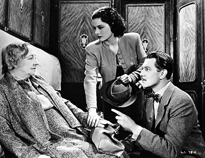 Still from 'The Lady Vanishes.'