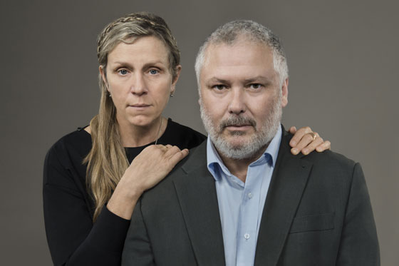 Frances McDormand and Conleth Hill co-star in Macbeth at Berkeley Repertory Theatre
