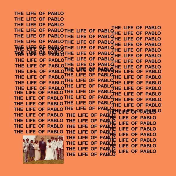 'The Life of Pablo' cover art.