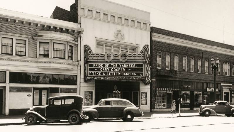 The UC Theatre in 1942.