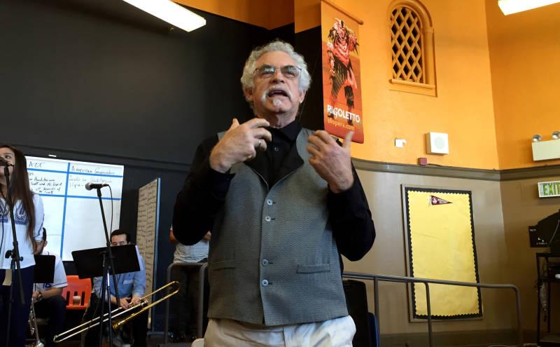 SF State Theater Professor Carlos Baron